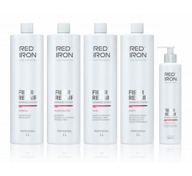 Kit de Tratamento Reconstrutor Red Iron( 05 Produtos)