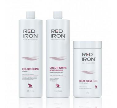 Red Iron Profissional  Color Shine Para Cabelos Coloridos(03 Produtos)