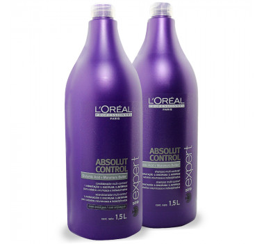 LOREAL PROFESSIONNEL ABSOLUT CONTROL 2 PRODUTOS