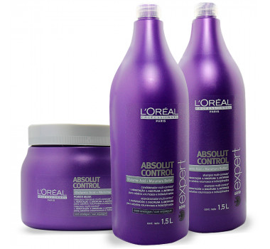 LOREAL PROFESSIONNEL ABSOLUT CONTROL 3 PRODUTOS