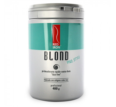 RED IRON PROFESSIONAL BLOND PÓ DESCOLORANTE EXTRA-FORTE - STYLE 400GR