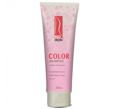 RED IRON PROFESSIONAL COLOR RESSECADOS SHMAPOO 250ML