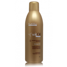 Shampoo Reconstrutor Pós Química Solé Oil 1000 ml+ valvula